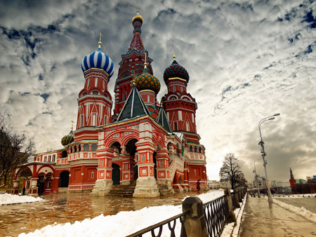 Cities St. Basil s Cathedral. Moscow 032366